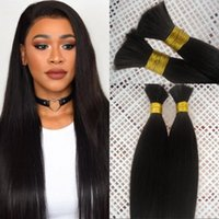 Wholesale silky braiding hair for sale - Brazilian Silky Straight Human Hair Bulk for Braiding inch Natural Color Bulk Hair No Weft FDSHINE