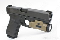 Wholesale Mount For Glock - Tactical APL Pistol gun light for picatinny rail mount Left Right button switch fit glock hunting shooting DE M4968