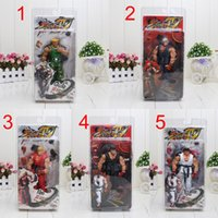 "Wholesale Neca Street - NECA Player Select Street Fighter IV Survival Model Ken Ryu Guile Action Figure Toy 7"" 18CM"