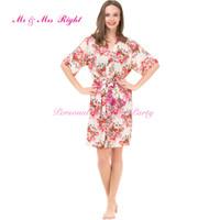 Wholesale New Shirt Colors For Women - Wholesale-2016 New Fashion 4 Colors Women Floral Robes Cotton Pajamas For Pregnant Women Maternity Bathrobes Nursing Shirts Sexy Sleepwear