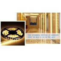 Wholesale Decration For Home - Wholesale- 1 PC DC 12V 5M SMD 300 LEDS 5050 Non-Waterproof LED Strip Light White Warm White for Home Decration P50