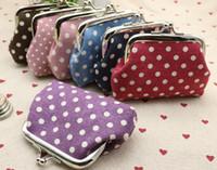 Wholesale Vintage Lovely Bag - Lovely Mini Women's Vintage Flower Coin Purse Money Bag Wallet Clutch Handbag Key Holder Hasp Small Gifts Wallet christmas gift
