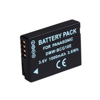 Wholesale Tz7 Camera - OEM replacement DMW-BCG10 BCG10E rehcargeable lithium battery pack for panasonic Lumix DMC-TZ30 DMC-TZ8 TZ6 ZS7 ZR1 TZ7 TZ8 TZ10 DMC-TZ20