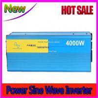 Wholesale Inverter Frequency Converter - Off grid 4000W Digital Display high frequency 12v 220v dc ac converter Solar Power generator Pure Sine Wave Inverter home inverter