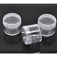 Wholesale Loose Bead Containers Tins - Wholesale- 6PCs Mini Storage Bottles And Jars New Container Tins Home DIY Accessories Fit Loose Beads Other Saundries 4x4x3.4cm