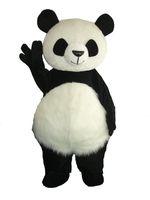 Wholesale cute party dresses online - High Quality Cute Panda Bear Mascot Costume Fancy Party Dress