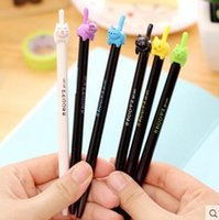 Wholesale mm Cute Colorful Dancing Cat Gel Ink Pen Promotional Gift Stationery Student Prize School Office Supply