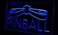 flipper neonschilder großhandel-Ls292-b Pinball Game Room Display Dekor Neonlicht Zeichen