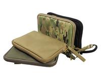 Wholesale Airsoft Hand Gun - Tactical Pistol Carry Bag Portable Handgun Holster Pouch Pistol Hand Gun Soft Case Airsoft Pistol Case Hunting Holsters