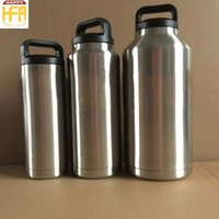 Wholesale High Quality Thermos - 18OZ Stainless Steel Water Bottle Vacuum Water Bottle Thermos Large Capacity High Quality Portable Vacuum Bottles For Outdoor Indoor Travel