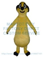Wholesale Timon Costume Adult - timon mascot costume king lion cartoon character cosply adult size carnival costume 3112