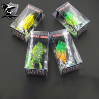 2014 4 Pieces / lot Pesca macio iscas soft iscas China Set Para Pesqueiro Água Doce Pesca Artificial Lure 45MM / 8g Hot Sale