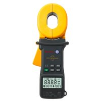 Wholesale Earth Resistance Clamp - Wholesale-Protable Digital Advanced Earth Ground Resistance Clamp Meter Tester MASTECH MS2301