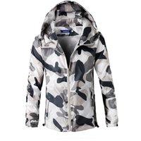 Wholesale Jaquetas Top - Wholesale- High quality men camouflage jackets windbreaker thin 2016 summer mens jacket and coats tops clothing plus size m-xxxxl jaquetas