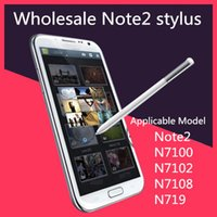 Wholesale N719 Note2 - Wholesale Stylus For Samsung Note2 S Pen Original 1:1 stylus Capacitive Pen Touch Screen S Pen for Note 2 N7100 N7108 N7102 N719