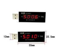 Wholesale Desktop Multimeter - Details about USB Power Current and Voltage Tester Detector Mobile Charger Multimeter meter