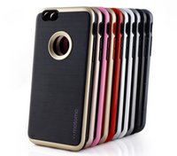 Wholesale Neo Slim Gold - Motomo 3 in 1 slim neo hybrid brushed silicon TPU armor case anti-shock tpu soft back cover For Iphone 5s 6 6s plus Samsung S6 S7 S7 Edge