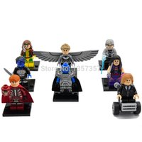 X-Men Apocalypse Minifigures Professeur X / Magneto Building Blocks 8pcs / lot Marvel Superhero Set modèles Figuers Jouets