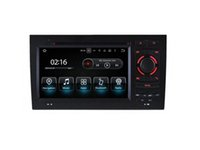 Wholesale Audi A4 Stereo - 7'' Quad Core Android 5.1.1 Car DVD Radio For Audi A4 (2002-2008) S4 (2002-2008) RS4 (2002-2008) With Stereo GPS Map