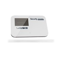 Wholesale Home Security Alarm System 433mhz - ios android APP inteilligent GSM SMS home security systems wireless motion detector alarm keypad kit with door sensor 433mhz multi language