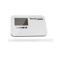 gsm sicherheitsalarme großhandel-ios android APP intelligent GSM SMS home security systems drahtlose bewegungsmelder alarm keypad kit mit tür sensor 433 mhz multi sprache