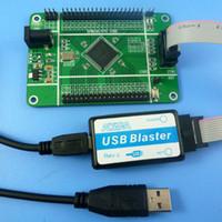 junta de desarrollo usb al por mayor-ALTERA MAX II CPLD EPM570 Junta Core Blaster USB kit de FPGA programador JTAG Downloader PLD Desarrollo lógica de LCD de matriz de LED