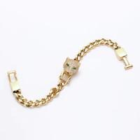 leopardo rosa ouro venda por atacado-Atacado ou broca de uma pulseira de cabeça de leopardo com ms han edição de ouro rosa com diamantes pulseira de Leopardo