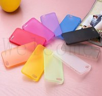 Wholesale Iphone 5s Skin Cover - 0.3mm Ultra Thin Slim Matte Frosted Clear Transparent Flexible Soft PP Cover Case Skin For iPhone 7 Plus 6S 4.7 5.5 inch 5 5S