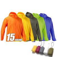 Wholesale Wholesale Outdoor Jackets - Fall-2016 New Mens Women Outdoor Jackets Waterproof Windproof Ultra-light Jacket Men Army Windbreaker Quick Dry Sport Skin Coat