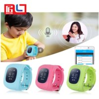 Wholesale gps gsm gprs watch - Q50 GPS GSM GPRS Smart Watch For Kids Locator Tracker Anti-Lost Remote Monitor Children Anti-Lost With the Retail Box