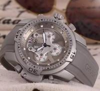 Wholesale Diver Professional - Free Shipping 45MM CHRONOGRAPH CHRONO QUARTZ BRITISH MASTER CHRONOFIGHTER oversize professional dive diver wristwatch men's watch prodive