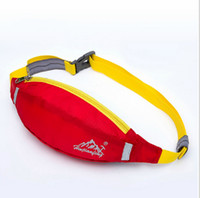 Wholesale Money Belts For Cycling - Running Waist Pack For Men Women Fanny Pack Bum Bag Hip Money Belt Travelling Mountaineering Fishing Cycling Mobile Phone Bag
