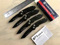 Wholesale Damascus Hunting - wholesale smith wesson folding knife automatic knives 4styles Mini pocket knife