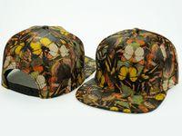 Wholesale Blank Floral Snapback Hat - Yjyb2b 2016 Hot Fashion Flowers women men Leather Blank Plain Solid Floral Snapback Hats Hip-Hop Adjustable BBoy Baseball Cap Multi Colors
