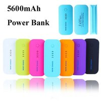Wholesale External Battery Flashlight - 5600mAh Portable Universal External Battery Charger Power Banks Power bank with flashlight for iphone 7 6s 6 plus samsung S7 S6 edge plus