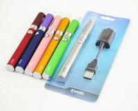 Wholesale vaping pen starter kits for sale - Group buy EVOD MT3 Vape Starter Kit E Cig Pen ml MT3 Vaporizer mah EVOD Battery Vaping Ego e Cigarette Blister Kits