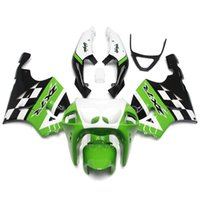 Wholesale 1998 Kawasaki Zx7r - Complete ABS Plastic Motorcycle Fairing Kit For Kawasaki ZX7R ZX-7R Year 1996 1997 1998 1999 2000 2001 2002 2003 Year 1996-2003 Green White