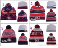Wholesale Album Offered New Wool Warm Beanie Montreal Canadiens Casquette Hockey Beanies Men Women Knitted Hats Skull Snapbacks Cap Hip Hop Hat