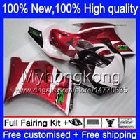 Wholesale 22 Mold - Body For SUZUKI RGV250 VJ22 90-95 Red white 6Y710 VJ22 Dark red black RGV 250 VJ 22 1990 1991 1992 1993 1994 1995 Bodywork Fairings kit
