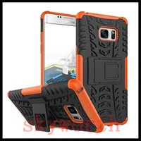 Wholesale Iphone Hybrid Pattern - For iphone 7 Plus 6 6S Plus Huawei P9 5C HTC A9 530 Spider Case Heavy Duty Tire Pattern Armor TPU+PC Hybrid Cover