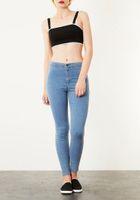Wholesale Cheapest Denim Jeans - Cheapest Pants Retro High Pockets Tight Leg PantsPencil Pants Jeans Feet Solid As The Picture