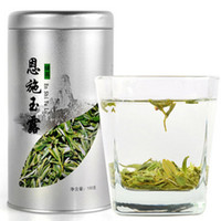 Wholesale Enshi organic enriched green tea slimming tea anti cancer anti aging natural resources tea selenium health