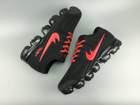 Wholesale Patent Leather Belt Red - 2018 new AIR VAPORMAX full palm plastic air cushion belt running shoes men's casual outdoor training jogging shoes