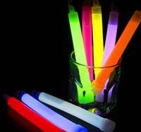 Wholesale Led Multicolor Glow Lights - Multicolor Glow Stick Chemical Fluorescent Colorful LED Cotton Candy Sticks Glow Light up Floss Stick for christmas birthday party