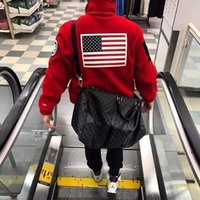 Wholesale Panel Flag - 17ss T X S Fleece Jacket Trans Antarctica Flag Jacket Men Women Coats Fashion Outerwear Top Quality Black S~XL HFZRY001