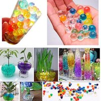 Wholesale Soil Free Shipping - New Hot 10g bag Jelly Crystal Mud Soil Water Beads Flower Plant Magic Ball free shipping