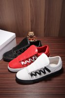 Wholesale Low Top Platform Sneakers - Low-top trainers Casual Walking Sport Football Shoes Lace-Up Flat Classic Leather Breathable Fashion Platform Sneakers Sapato Hombre