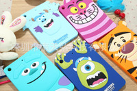 Wholesale Chip Protect - Famous Donald Duck Minnie Mickey Mouse Goofy Max Chip Dale Cartoon Characters Silicone Case Protective Back Cover Ipad Mini Silica Protect