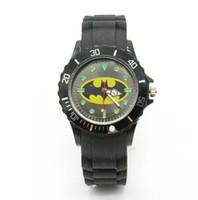 Wholesale Watches Express - 2016 Cartoon Children Brand Watch batman Watches Fashion boy Kids express silica quartz WristWatch Gift relojes