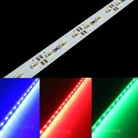 mavi led şerit 1m toptan satış-Eyoumy 100M / lot 5630 LED bar ışığı beyaz / sıcak beyaz / Yeşil / Mavi / Kırmızı 1M 72LED DC 12V LED sert şerit